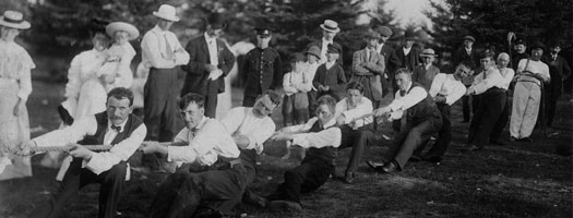 City Waterworks Department Picnic Gimli, Manitoba, 1909