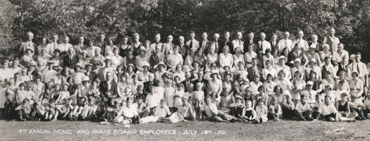 Annual Picnic, Winnipeg Parks Board Employees, July 13, 1932