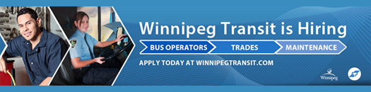 Winnipeg Transit is Hiring