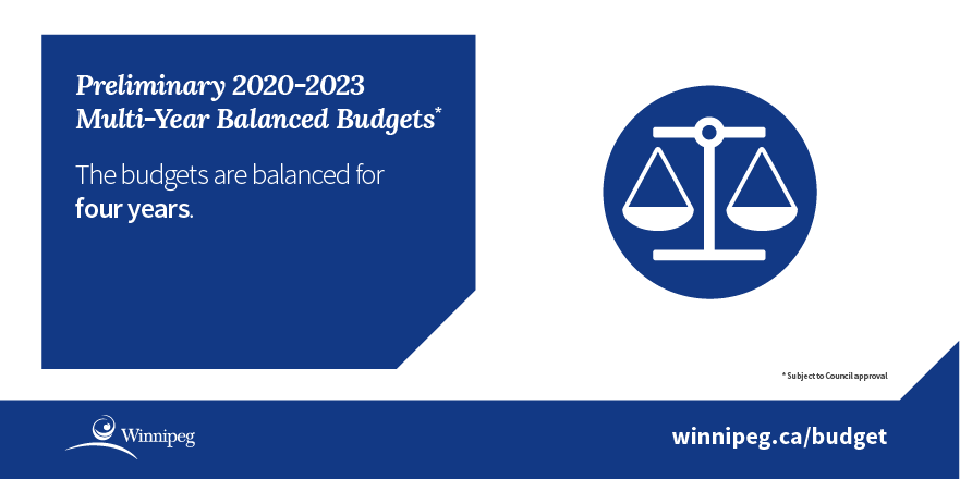 Infographic - 4 year balanced budget