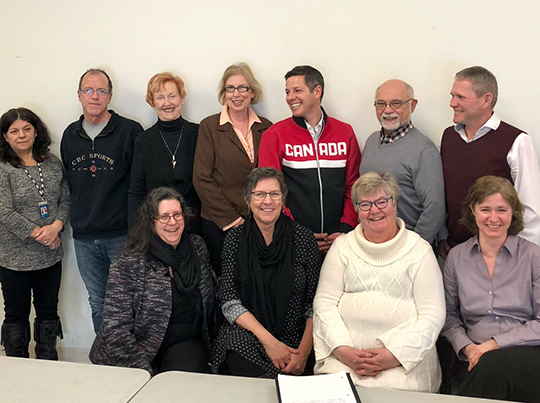 Photo of the Mayor's Age-friendly and Seniors Advisory Committee