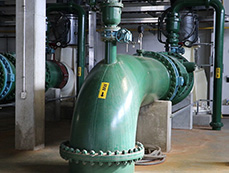 green water treatment pipe