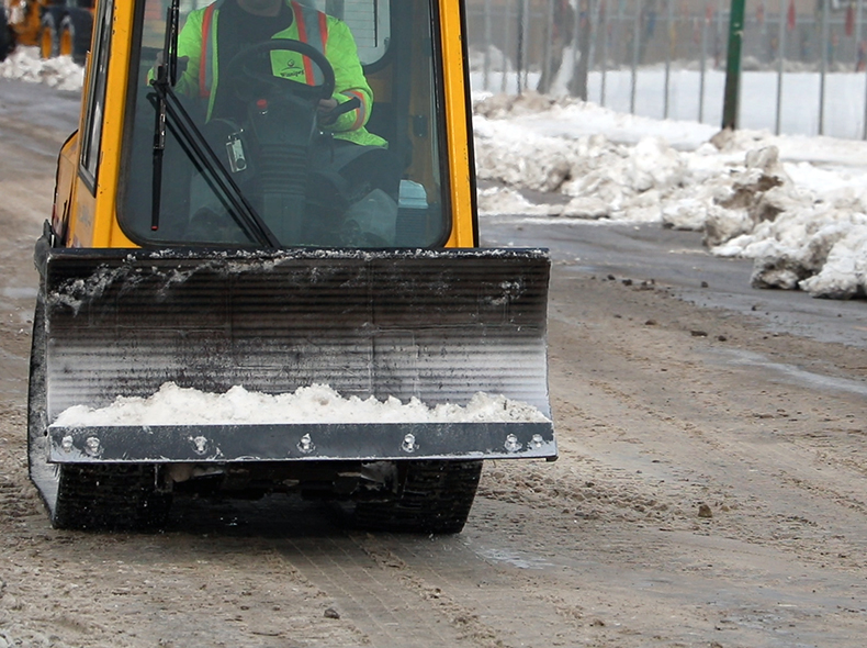 Sidewalk plows are one of the many pieces of equipment Winnipeg Fleet Management Agency is responsible for maintaining.