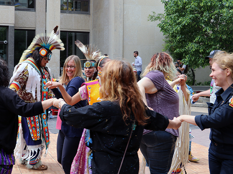 The City of Winnipeg marks National Indigenous Peoples Day