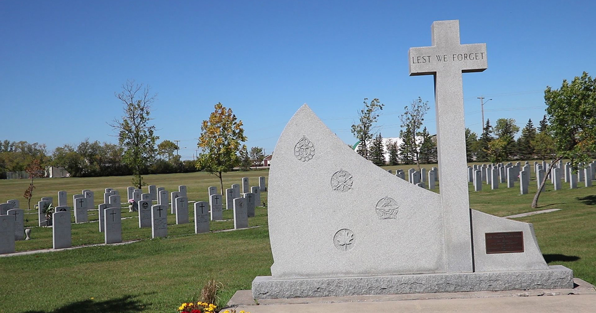 Transcona Cemetery Field of Honour.