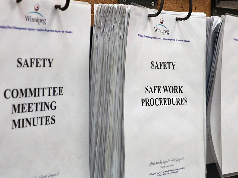 More City facilities receive SAFE Work certification
