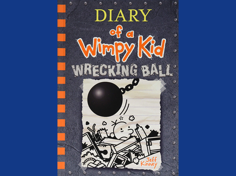 Jeff Kinney's 'Diary of a Wimpy Kid Wrecking Ball' was the most popular children's title at Winnipeg Public Library in 2019.