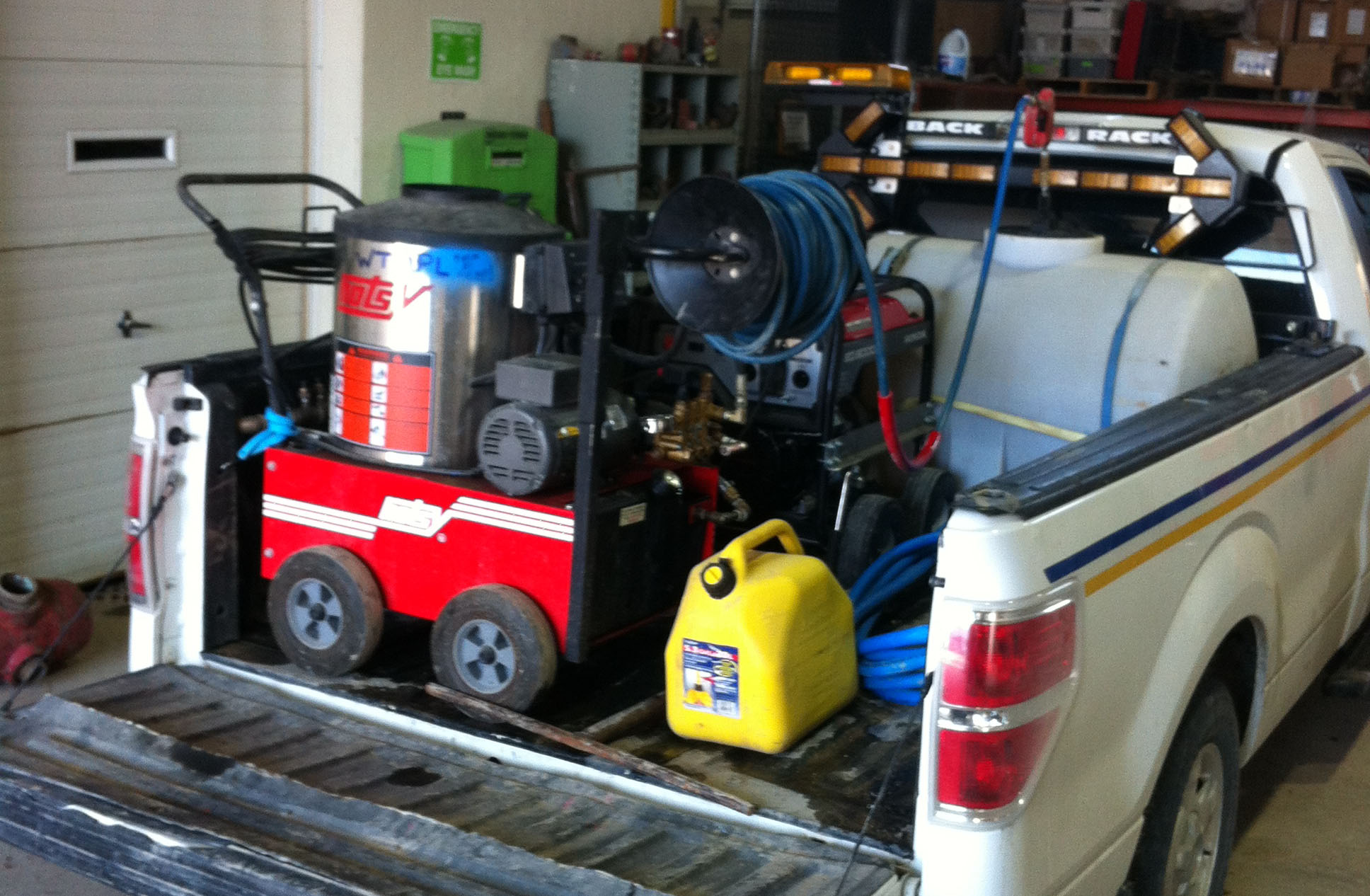 Pressure washer thawing machines - truck mounted and portable units